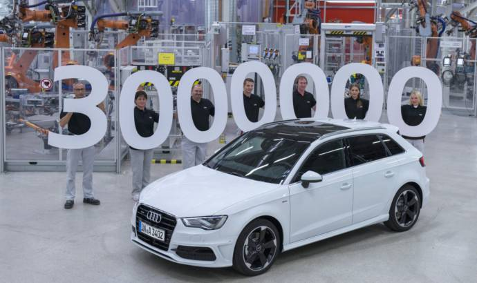 Audi A3 has reached 3 million units milestone