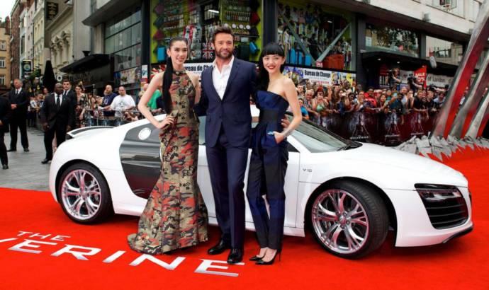 Audi R8 Spyder stars in The Wolverine movie