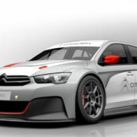 Citroen C-Elysee WTCC - the first official sketches