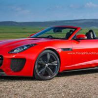 Jaguar F-Type RS rendered by Theophilus Chin