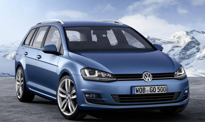 Volkswagen Golf Variant is now available with 4Motion