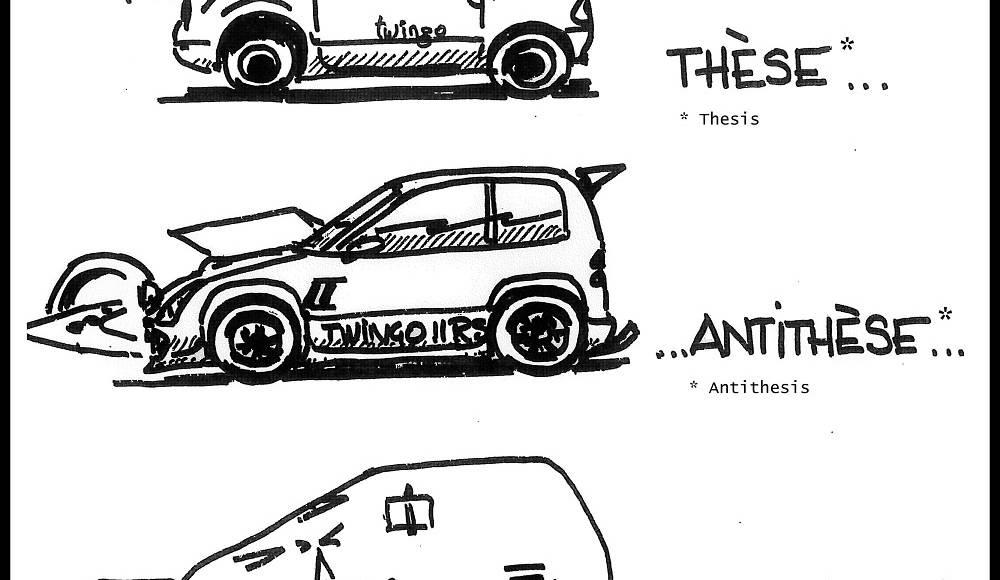 20 years of Renault Twingo in 20 cartoons