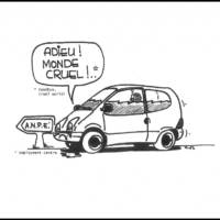20 years of Renault Twingo in 20 cartoons