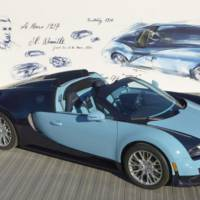 2013 Bugatti Veyron Grand Sport Vitesse Jean-Pierre Wimille unveiled at Pebble Beach