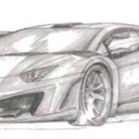 2013 FAB Design Lamborghini Aventador kit - First official sketch