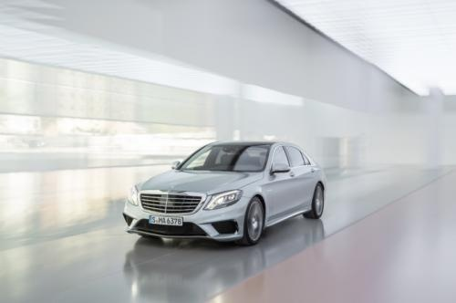 2014 Mercedes S63 AMG available for 119.565 pounds in UK