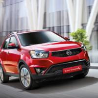 2013 SsangYong Korando facelift introduced in Korea