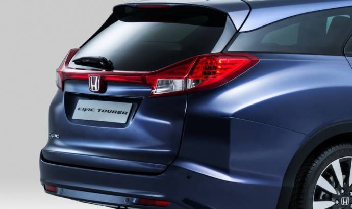 2014 Honda Civic Tourer - Official pictures and details