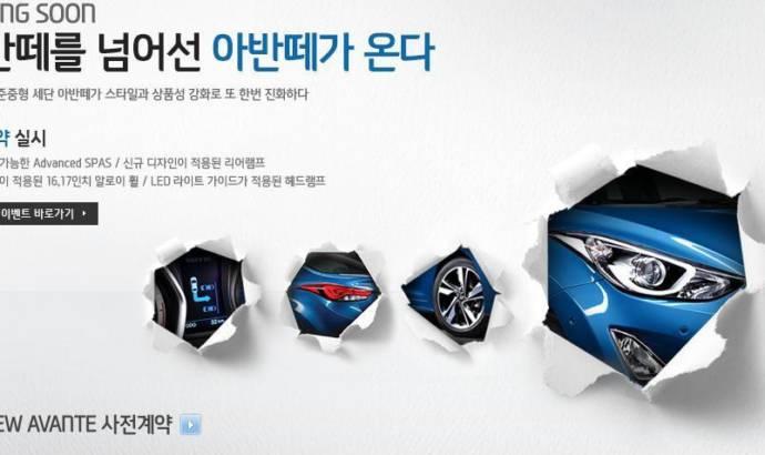 2014 Hyundai Elantra - First teaser
