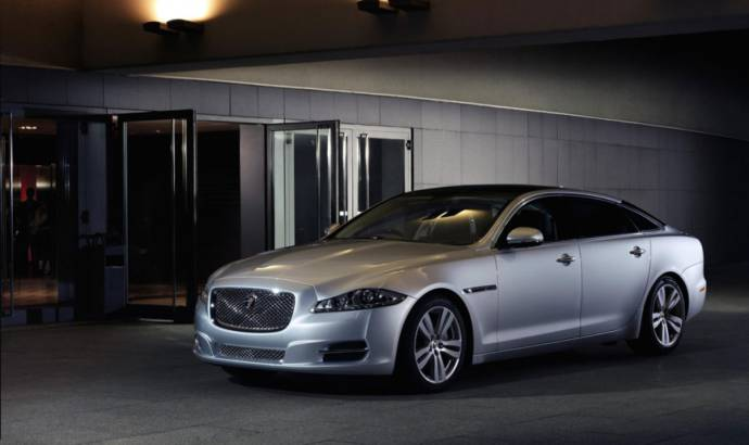 2014 Jaguar XJ gets new engine and revised interior
