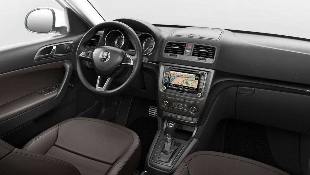 2014 Skoda Yeti facelift - official images and details
