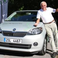 2.619 km in a Skoda Citigo CNG with less than 100 Euros