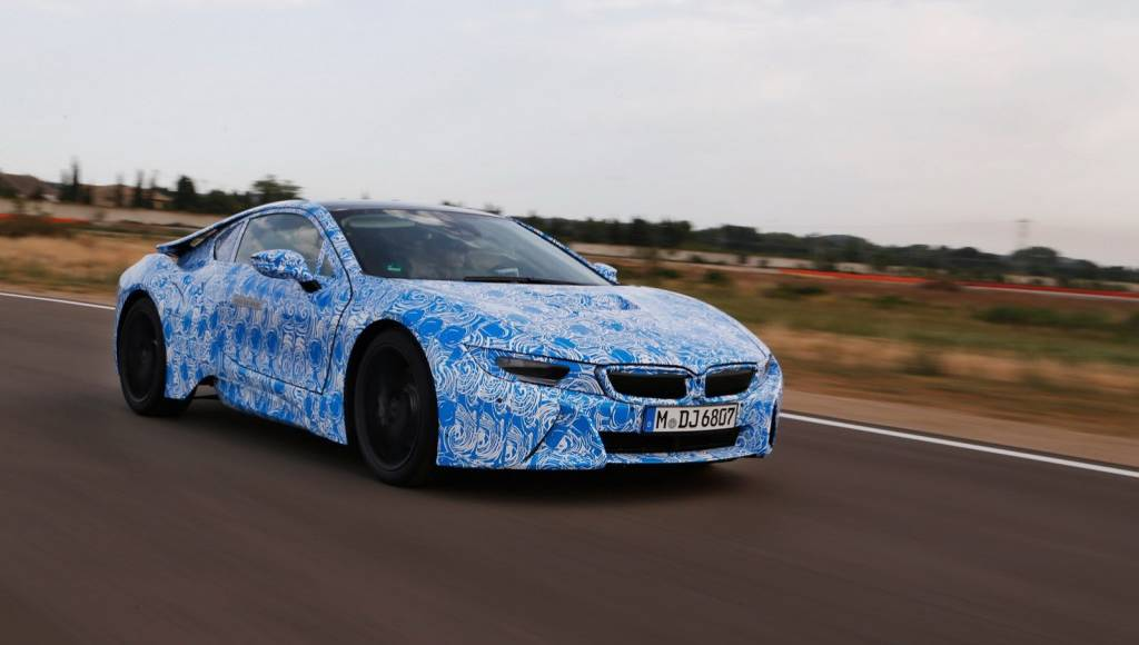 3xVideo: The development of the 2014 BMW i8