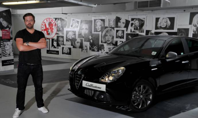 Alfa Romeo and Simon Claridge design stylish car park on Oxford Street