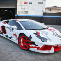 Chris Brown's customized Lamborghini Aventador