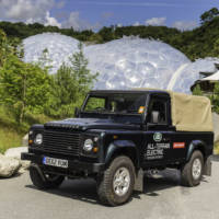 Land Rover Electric Defender Works Great