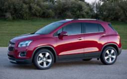 Chevrolet Trax starts at 15.495 pounds in the UK