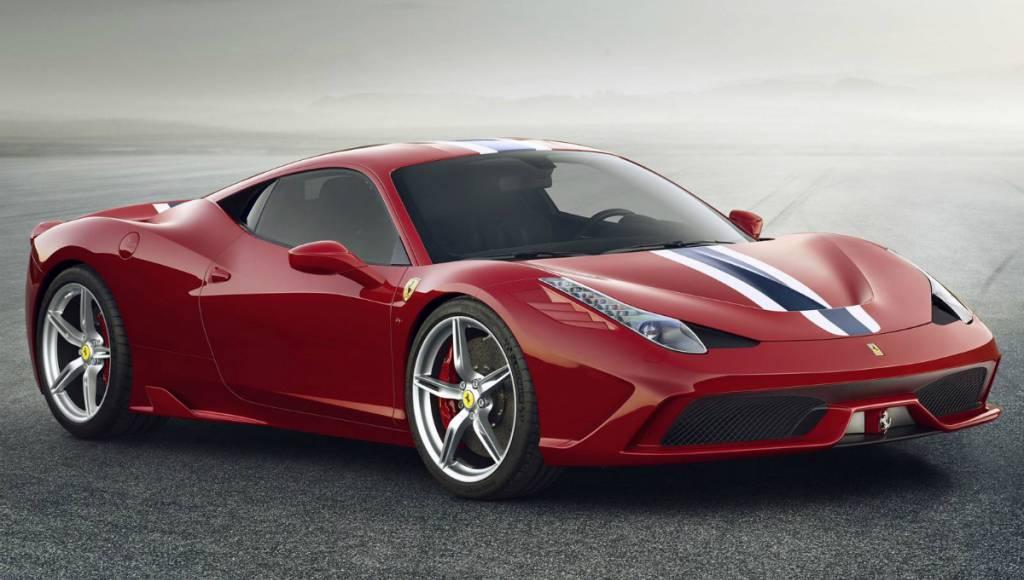 Ferrari 458 Italia Speciale - world premiere in Frankfurt