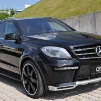 German Special Customs Mercedes ML body-kit