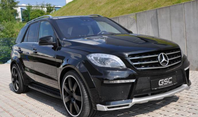 German Special Customs Mercedes ML body-kit