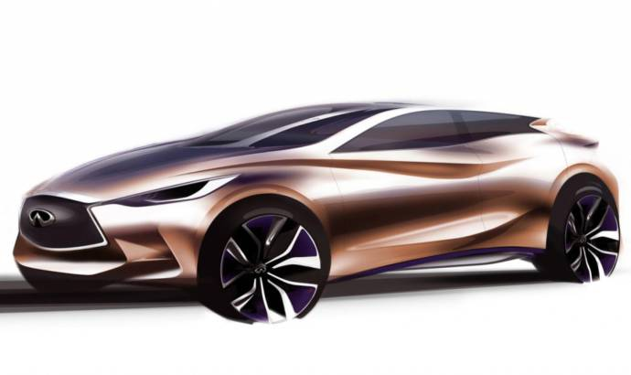 Infiniti Q30 Concept set to be unveiled at IAA Frankfurt