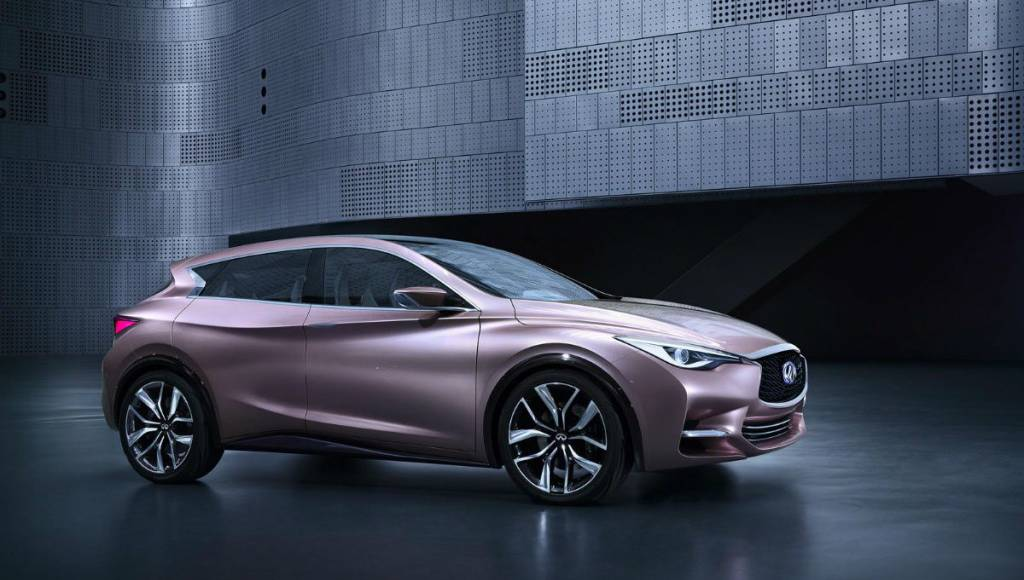 Infiniti Q30 revealed in first official photo