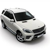 Mercedes-Benz ML350 BlueTEC 1st Anniversary - Special edition for Japan