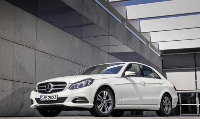 Mercedes E-Class Natural Gas Drive introduced
