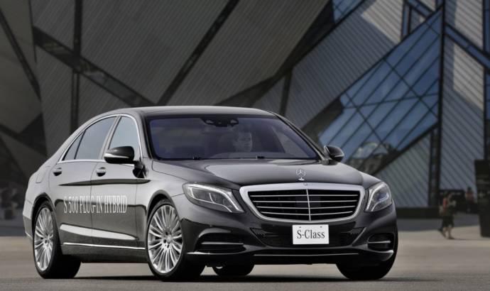 Mercedes S500 Plug-in Hybrid introduced