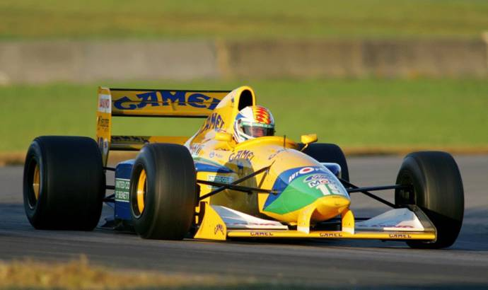 Michael Schumachers Benetton B191 to be auctioned at Nurburgring