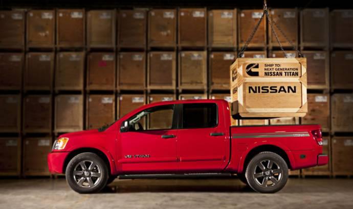 Nissan Titan will offer a Cummins V8 Turbo Diesel