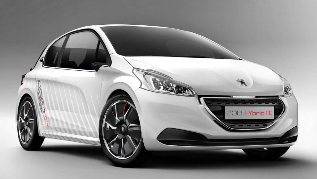 Peugeot 208 Hybrid FE Concept gets detailed