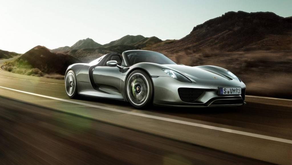 Porsche is working on a 4 door 918 Spyder