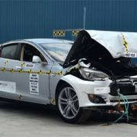Tesla Model S ranks highest in NHTSA crash-tests