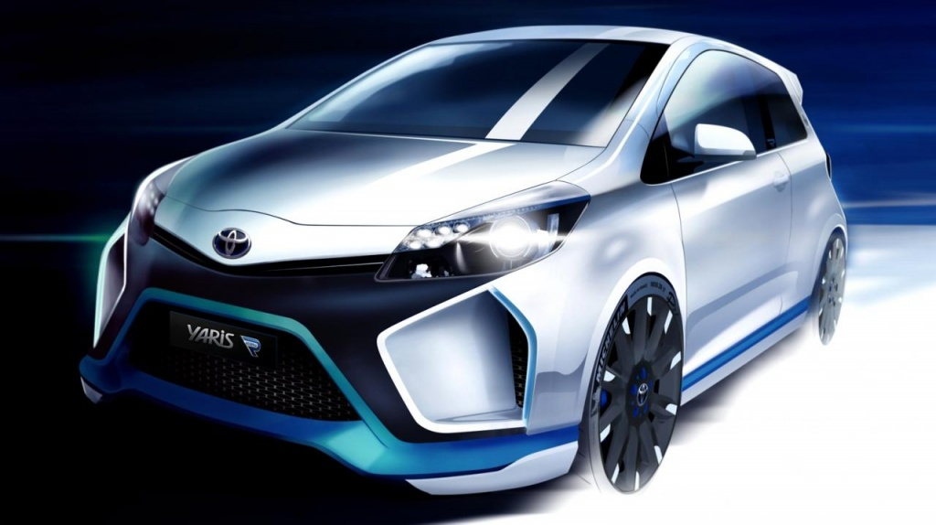 Toyota Hybrid R Concept - first images