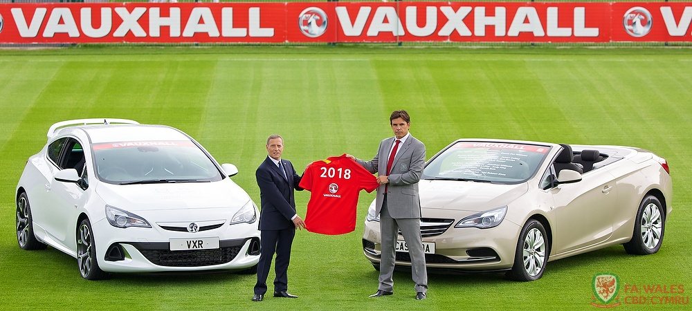 Vauxhall to sponsor the Wales National Football Team