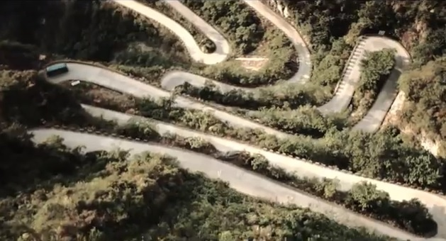 Video: Drift King by Red Bull on Tianmenshan Mountain