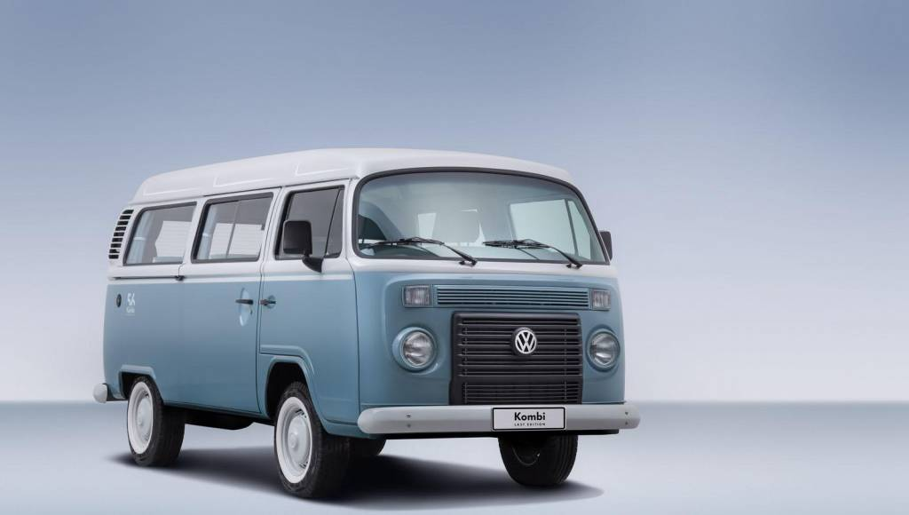 Volkswagen Kombi Last Edition introduced in Brasil