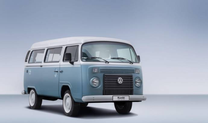 Volkswagen Kombi Last Edition introduced in Brasil