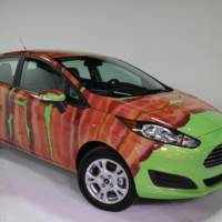Bacon Day Ford Fiesta looks very strange