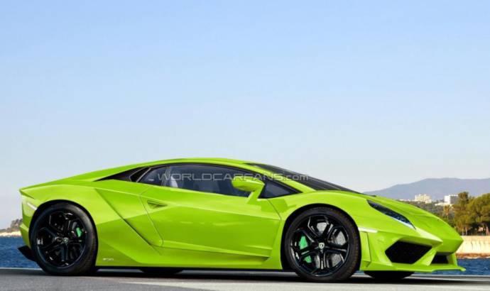 Lamborghini Cabrera and Cabrera Spyder - First rendered pictures