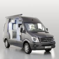 This is the 2013 Mercedes-Benz Sprinter Caravan Concept