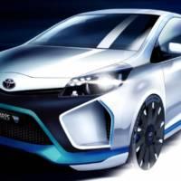 Toyota Yaris Hybrid R - more information arrive ahead of Frankfurt