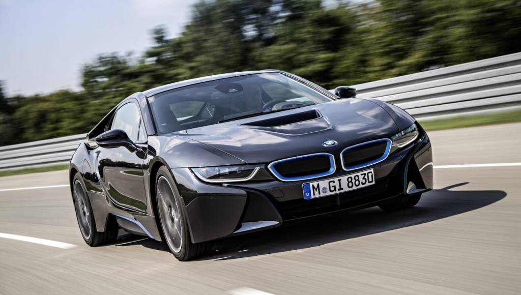 2013 BMW i8 production version has arrived in Frankfurt