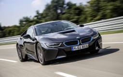 2013 BMW i8 production version has arrived in Frankfurt