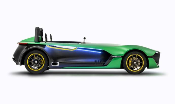 2013 Caterham AeroSeven Concept unveiled