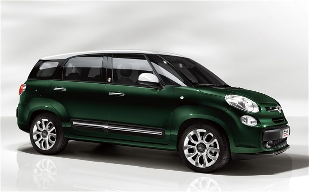 2013 Fiat 500L MPW starts at 15.795 pounds in the UK