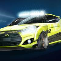 2013 Hyundai Veloster Turbo Yellowcake will come at SEMA