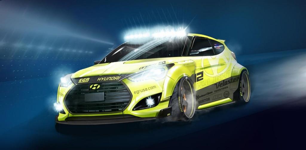 2013 Hyundai Veloster Turbo Yellowcake will come at SEMA