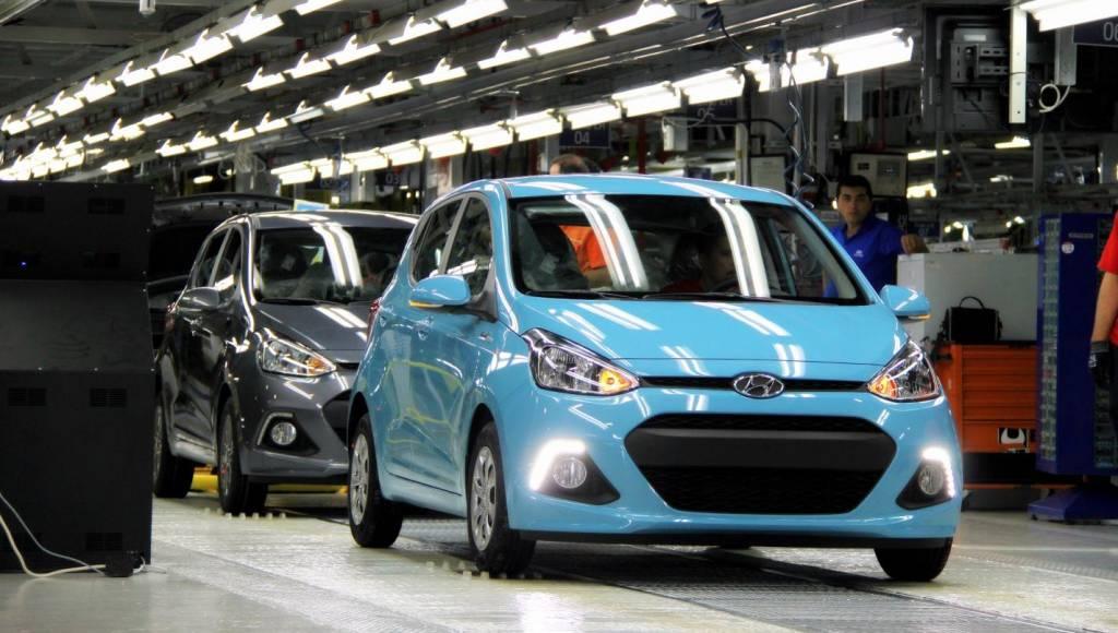 2013 Hyundai i10 enetrs production